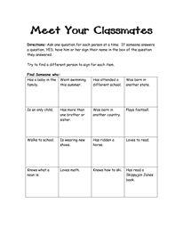 best 25 classroom scavenger hunt ideas on pinterest fun questions for kids kid conversation. Black Bedroom Furniture Sets. Home Design Ideas