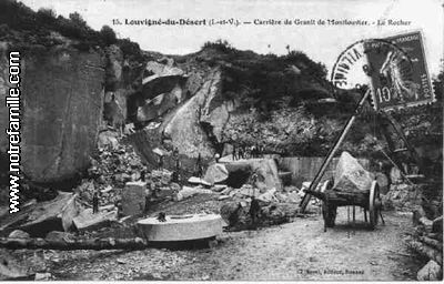 Carrière de granit - Louvigné