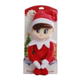 Plush Elf on a Shelf (less creepy than the hard plastic one)