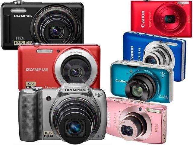 5 razones para elegir cámaras compactas