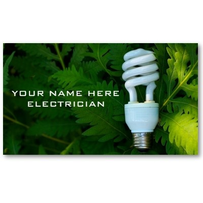 Electrician Business Cards by Last Impression