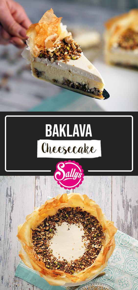 SALLYS BAKLAVA CHEESECAKE