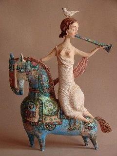 Spring by Elya Yalonetski. Ceramic delight...