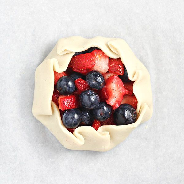 How to Make Mini Summer Berry Galettes