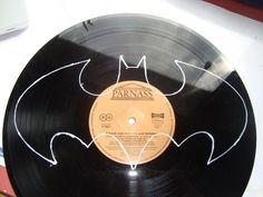 Die Batman-Schallplatten-Uhr | meinekleinewohnung.de