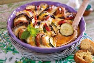 Das Rezept für Gebackene Ratatouille mit Mozzarella und weitere kostenlose Rezepte auf LECKER.de