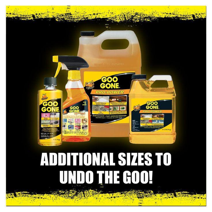 Goo Gone GGHS12 Goo Remover Spray Gel 12 oz