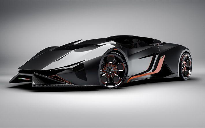 Descargar fondos de pantalla 4k Lamborghini Diamante, 2018 coches, supercars, italiano coches, Lamborghini