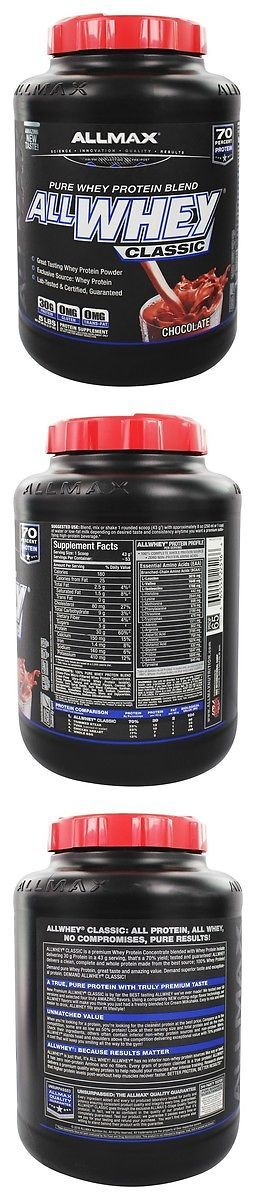 Protein Shakes and Bodybuilding: Allmax Nutrition - Allwhey Classic Pure Whey Protein Blend Chocolate - 5 Lbs. BUY IT NOW ONLY: $44.99