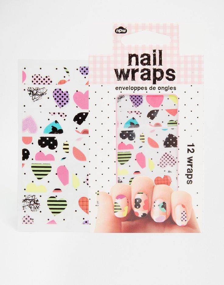 Nail Wraps For People Who Just Can't Be Bothered With Nail Art