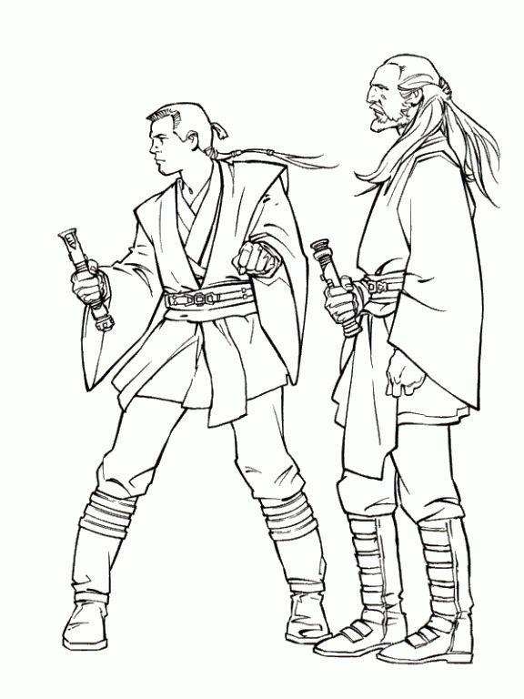 Luke Skywalker (9)   Super coloring pages, Abc coloring ...