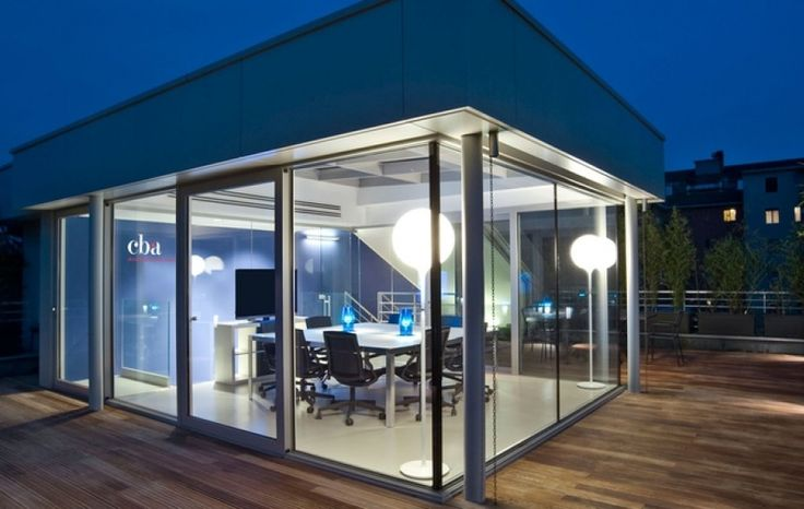 CBA Italy's offices in Milan #agency #rooftop #meeting #light #design