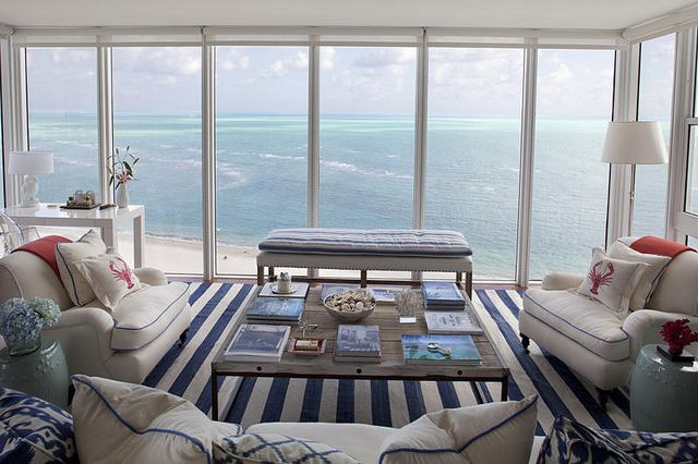 I could live here...Seaside Style, Living Rooms, Ocean Views, Dreams, Beach Living, The View, Beach Houses, Coastal Living, Beachhouse
