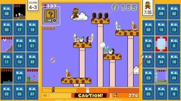35人のマリオが対戦 オンラインバトルロイヤル Super Mario Bros 35 が10月1日から期間限定無料配信 スーパーマリオブラザーズ ゲーム マリオ