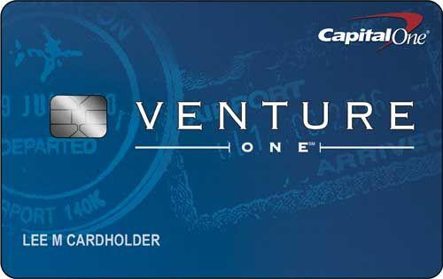 Capital One<sup>®</sup> VentureOne<sup>®</sup> Rewards Credit Card
