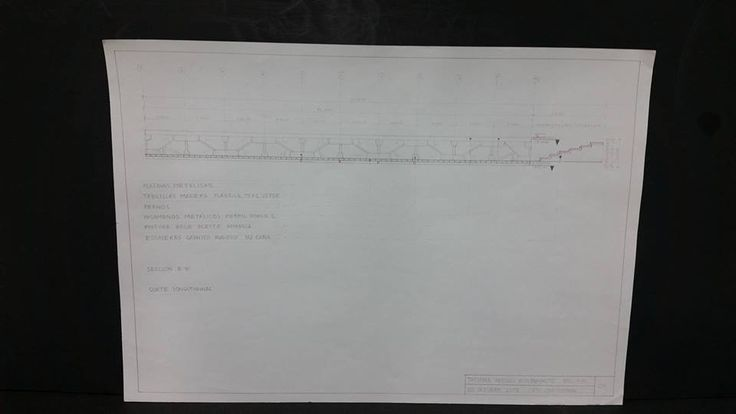 Puente / Corte longitudinal