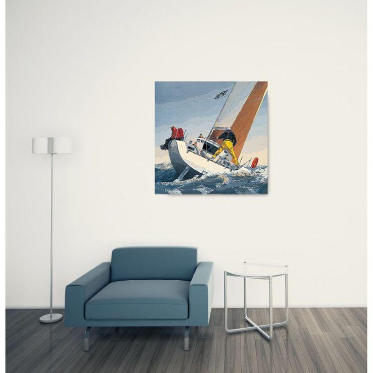 DEKERYVER - Petite brise 70x70 cm #artprints #interior #design #sports #print  Scopri Descrizione e Prezzo http://www.artopweb.com/EC20844