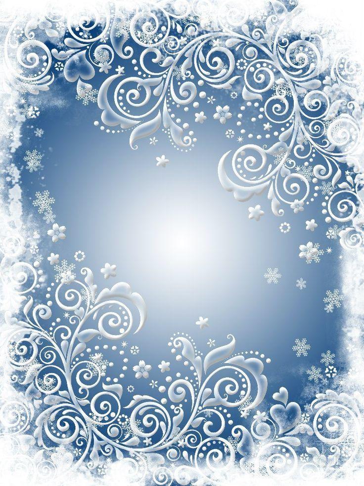 Новогодние узоры картинки оформление рамки