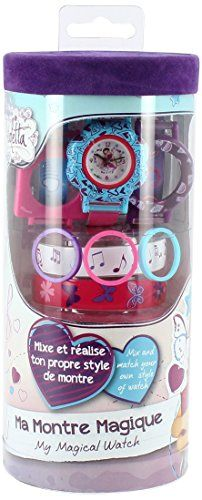 Disney Violetta – T14400 – Bracelet – My Magic Watch: Descriptif produit: Contient : 1 montre3 cadrans4 bracelets Nécessite des piles : 1 x…