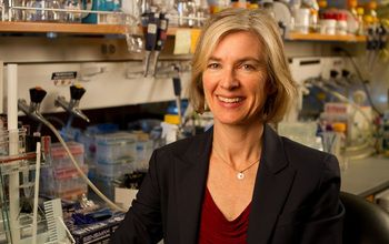 """Researchers are trying to harness this system for gene editing and regulation, a process that could transform """"the genome of plants or animals in ways that will improve their health, or introduce genetic changes that will resist disease of climate change,"""" says Jennifer Doudna, a Howard Hughes Medical Institute investigator and professor of biochemistry, biophysics and structural biology at the University of California, Berkeley. [Photo: UC Berkeley Photo Services]"""