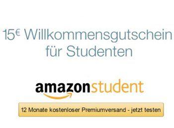 """Gratis: Amazon-Gutschein über 15 Euro für neue Mitglieder von """"Amazon Student"""" https://www.discountfan.de/artikel/technik_und_haushalt/gratis-amazon-gutschein-ueber-15-euro-fuer-neue-mitglieder-von-amazon-student.php Amazon gibt einen aus – zumindest für Studenten: Ab sofort und nur bis zum 26. März 2017 ist nicht nur das erste Jahr """"amazon student"""" zum Nulltarif zu haben, obendrein gibt es einen Amazon-Gutschein über 15 Euro. Gratis: Amazon-Gutschein"""