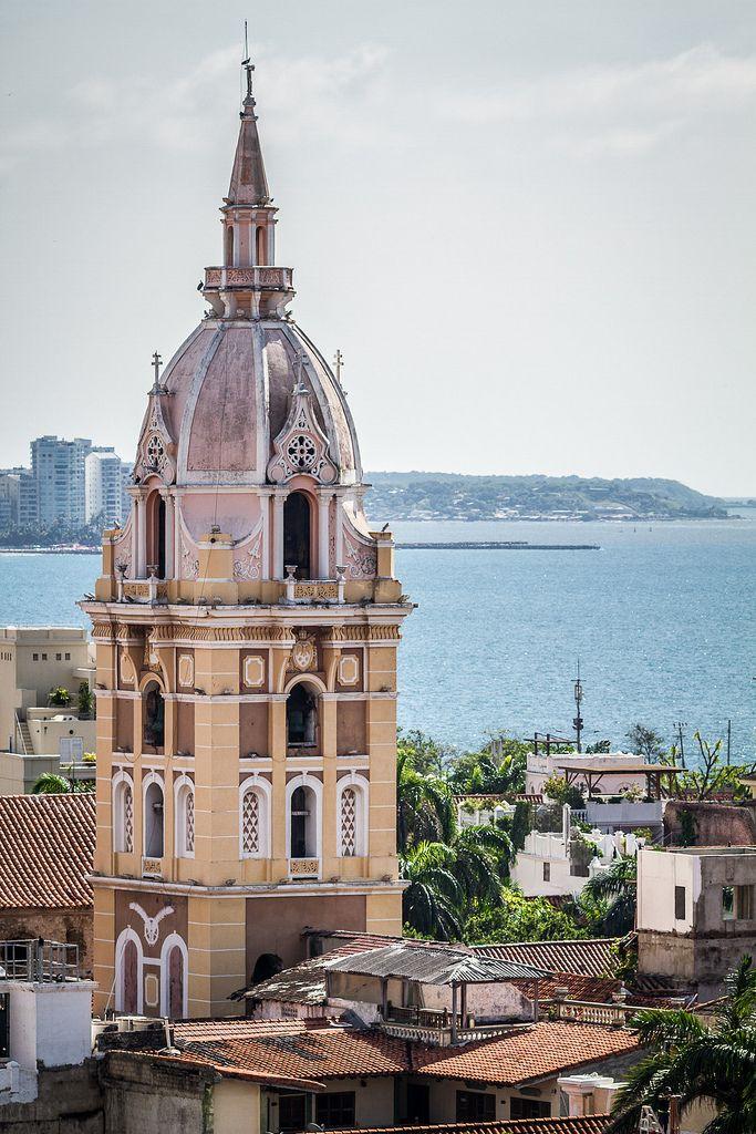 Catedral de Santa Catalina de Alejandría, Cartagena, Bolívar. Colombia