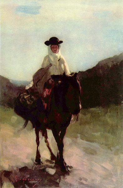 Nicolae Grigorescu-Femeie din Rucar