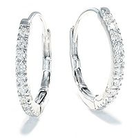 Diamantøreringer 0,20 carat   Delicato - Delicato Diamantøreringer 0,20ct tw/vs