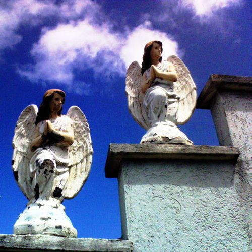 Sempre me reje, me ilumina... by Huguenise, via Flickr: Angel, Lords Angel S, Angels, Photo
