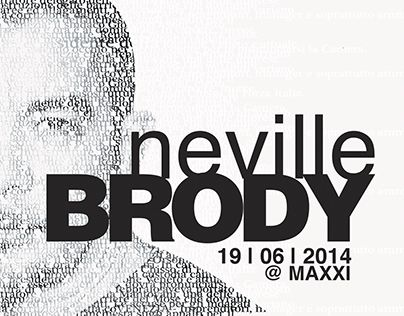 """Check out new work on my @Behance portfolio: """"Neville Brody"""" http://be.net/gallery/31707687/Neville-Brody"""