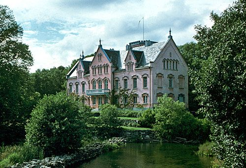 Gåsevadholms slott, Rosa slottet