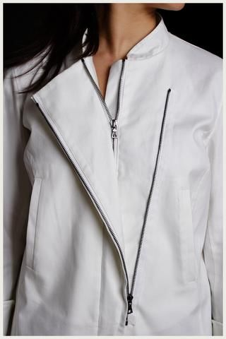 Designer Chef Jacket - Women's Moto