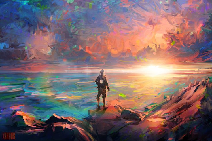 Sous le pseudonyme RHADS se cache un très talentueux artiste russe de 27 ans. Il nous entraîne dans son univers incroyablement coloré où tout semble être directement issu d'un rêve. Son imagination sans limite lui a permis de se faire un nom sur le web. Pour en voir davantage, visitez son DeviantArt.