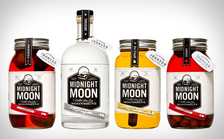 Just in case you're not up on your NASCAR history, the sport has its origins in bootlegging during Prohibition — and so did one of its earliest stars, Junior Johnson. Now Johnson's family recipe is being followed to create Midnight Moon Moonshine ($TBA). Handcrafted in small batches, it's made from corn in a copper still, and is ready to stand up against even higher end vodkas.