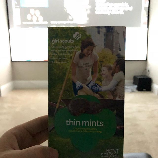 I will be unable to attend to the gym tomorrow as I will be sleeping off a box of thin mints. #girlscoutcookies #cookies #cookiesandmilk #gettingold #gettingfat #realtorlife #realtor #thanksneighbors #localrealtors - posted by James Donovan https://www.instagram.com/jamesteamdonovan - See more Real Estate photos from Local Realtors at https://LocalRealtors.com