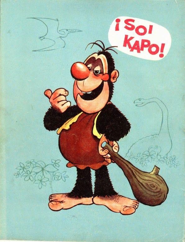 Los comics de Machete: Mampato y Ogú en Golagolas y kilikilis