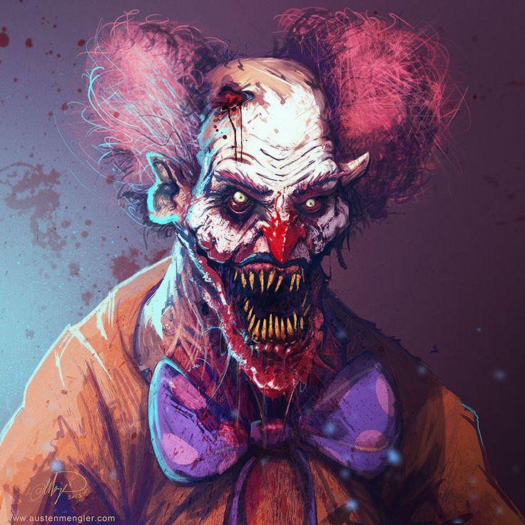 42 Best Psychotic Clowns Images On Pinterest