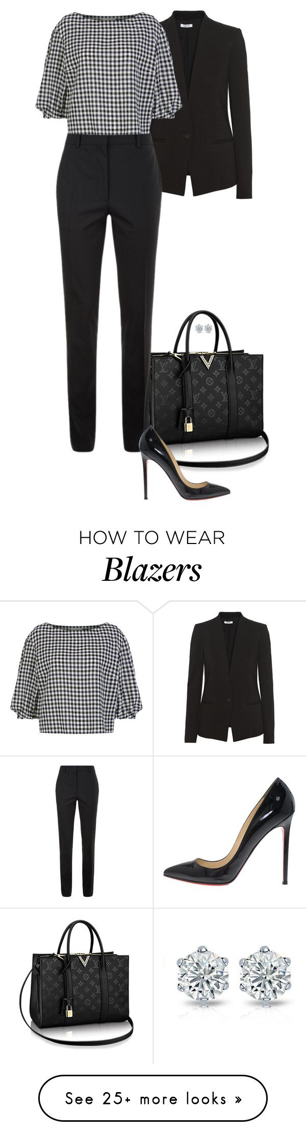 Close For Comfort. by foreverforbiddenromancefashion on Polyvore featuring Helmut Lang, Victoria Beckham, Sonia Rykiel and Christian Louboutin