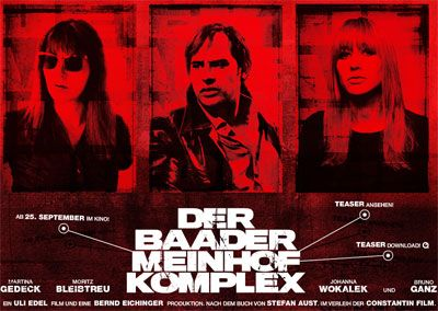 A look at Germany's terrorist group, The Red Army Faction (RAF), which organized bombings, robberies, kidnappings and assassinations in the late 1960s and '70s. (Source: imdb.com)