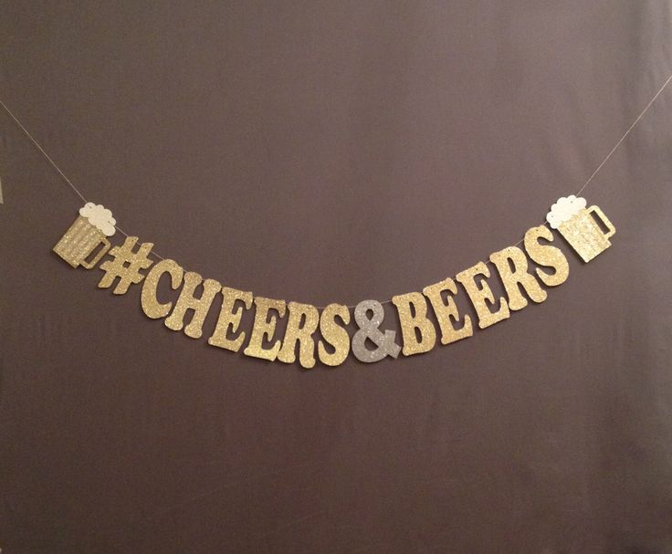 30th Birthday Decorations, Beer Decorations 40th 21st Birthday Decotations, Cheers Beers, Happy Birthday Banner,  Birthday Decorations by Party2Perfection on Etsy https://www.etsy.com/listing/498799894/30th-birthday-decorations-beer