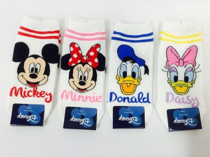 New Woman Size Disney Official Character Colorful Cotton Socks | eBay