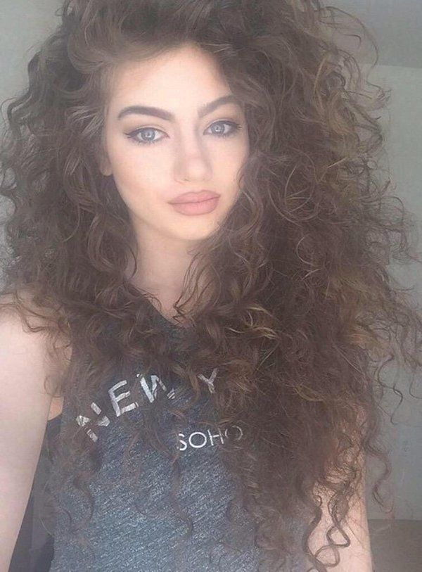 Outstanding 1000 Ideas About Curly Hair Braids On Pinterest Hairstyles Hairstyle Inspiration Daily Dogsangcom