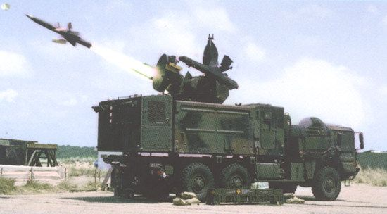 The system is capable of firing the Roland 2 and Roland 3 missiles and the new Roland VT1 hypervelocity missile. - Image - Army Technology