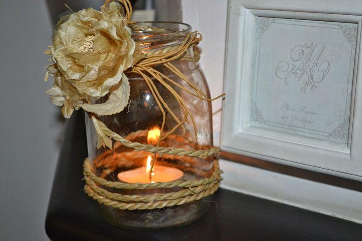 pindepummi: nontuttomaditutto: fai da te  bijoux  arte riciclo  foto  racconti  viaggi pensieri : In attesa del Natale......  porta candela fai da t...