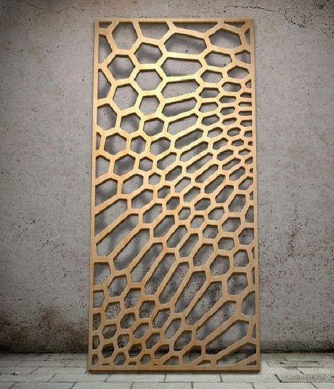 25 melhores ideias de biombos externos no pinterest for Biombos metalicos