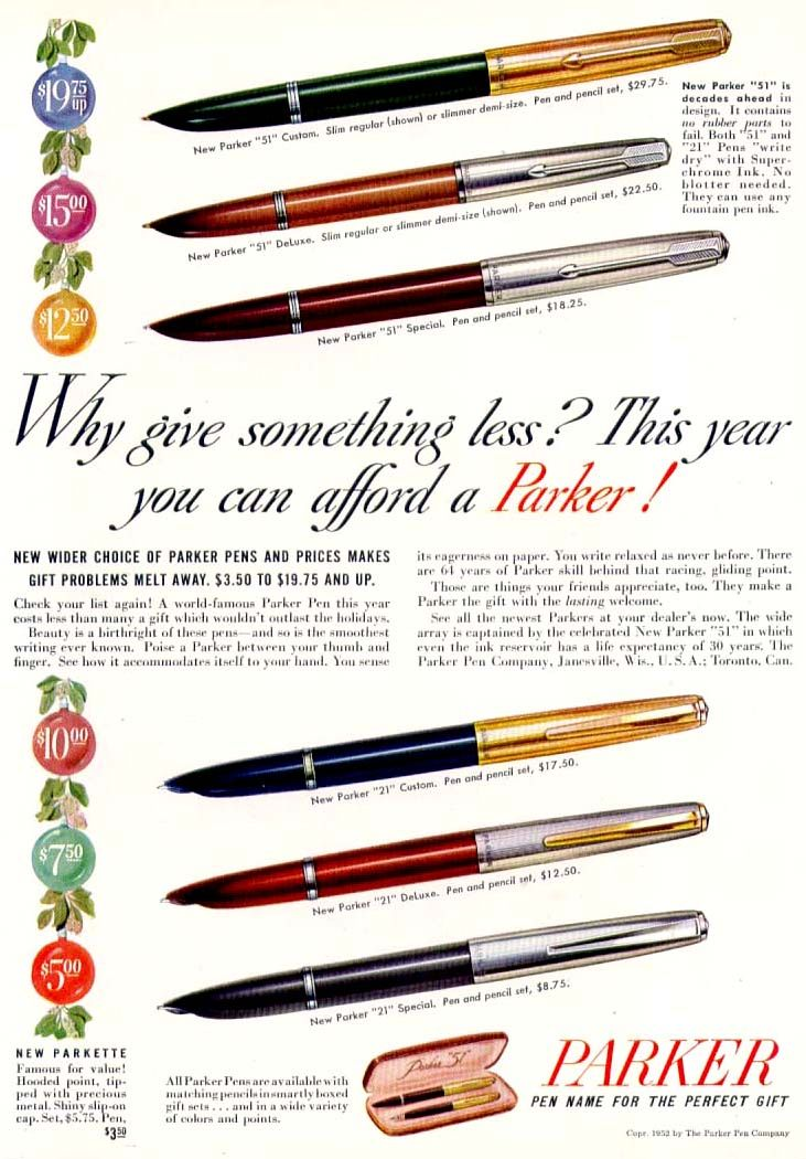 Parker Pens Beautiful Pens Pinterest Fountain Pens