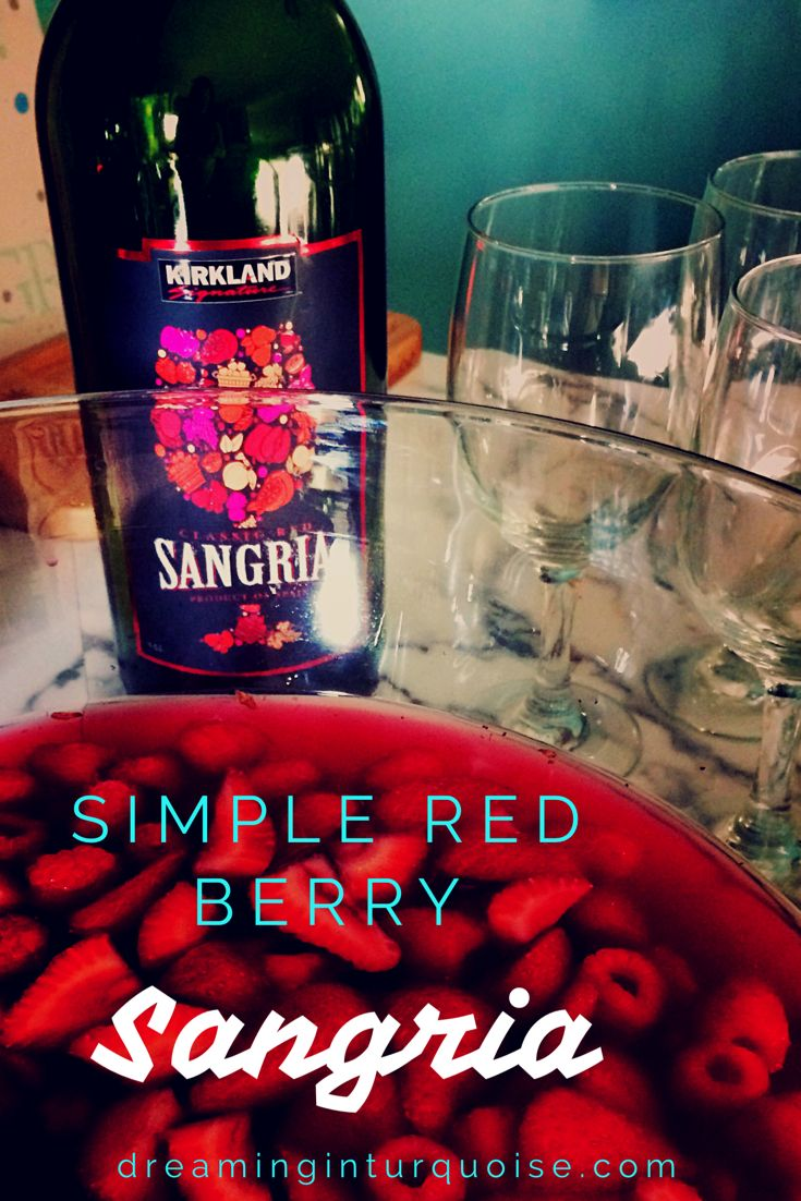 Perfect for any sangria Sunday!
