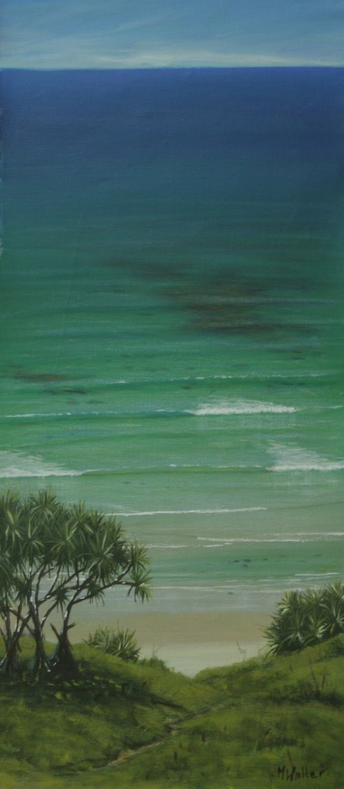 Explore Mark Waller's new page to get you painting ocean landscapes with realism and zing.