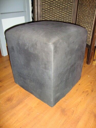 This Ottoman was another item in the house that needed some tlc.