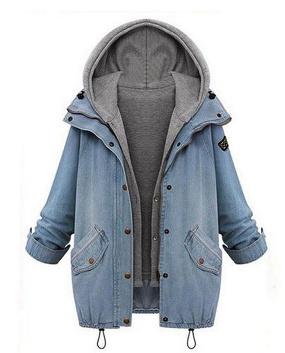 die besten 25 damen jeans parka ideen auf pinterest parka schwarz damen parka damen h m und. Black Bedroom Furniture Sets. Home Design Ideas